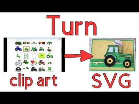 How To Convert A Clipart Image Into An SVG Using Inkscape In HD