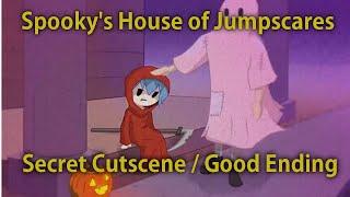 Secret Cutscene [Good Ending] | Spooky's House of Jump Scares #11
