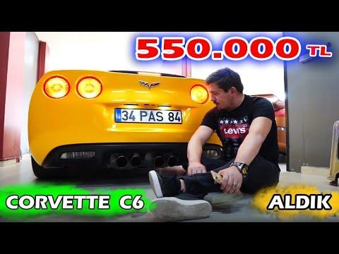 Corvette C8 Stingray - Ortadan Motorlu Corvette