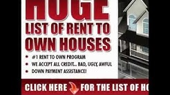 Rent to Own Homes - Where Can You Locate Rent To Own Home Sellers..?