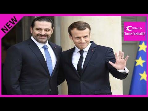 Saad Hariri reçu à l'Elysée remercie Emmanuel Macron et veut s'exprimer à Beyrouth