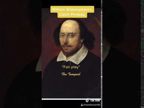 Quoting Shakespeare Without Knowing It | Catch Phrases Tiktok Trend