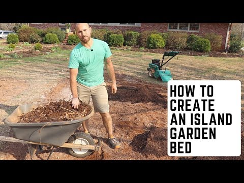 How To Create An Island Garden Bed 💪🏻🌸😀 / Colorful Gardener