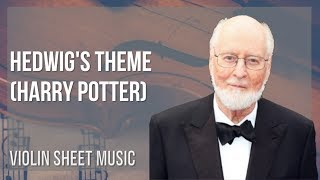 EASY Violin Sheet Music: How to play Hedwig's Theme (Harry Potter) by John Williams