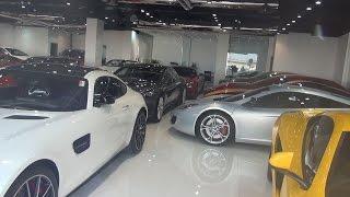 Ceny samochodów i paliwa - benzyny czyli przegląd rynku motoryzacyjnego + Dubaj Nocą - Dubai VLOG 15