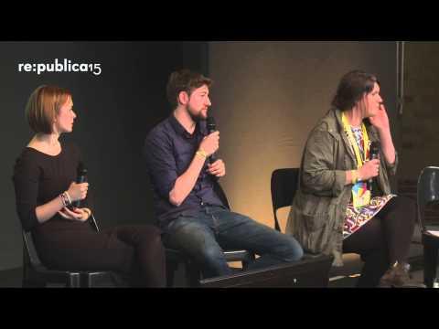 "re:publica 2015 – Marie Meimberg, Elisa Kropp, Robin Blase: Youtuber: ""wachstumsgeile Kommerzhuren""? on YouTube"