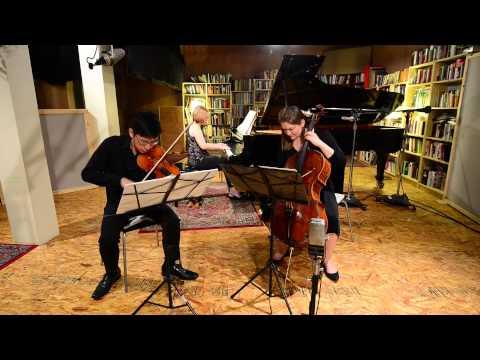 Mozart Piano Trio in E major, K.542 - Andante grazioso