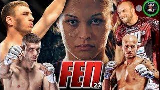 FEN 27 - Fight Card