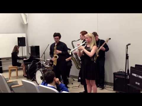 3/18/17 Santa Cruz Jazz Festival, MSA Combo #2, Song #3