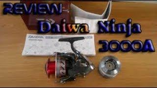 REVIEW carrete DAIWA Ninja 3000A en ESPAÑOL
