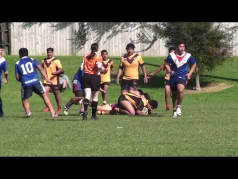 TAT REBELZ vs  Manurewa white sharks 03 2017