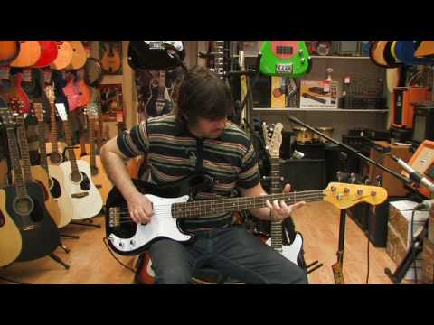 Vintage V4 Bass Guitar Review by Rikki's Music Shop, Edinburgh