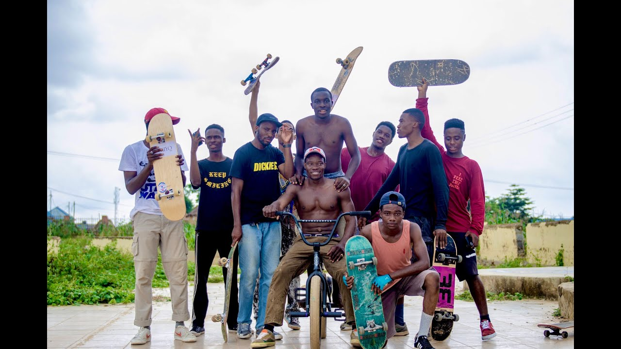 Skate Boarding in Abuja City? Yeah, that too!