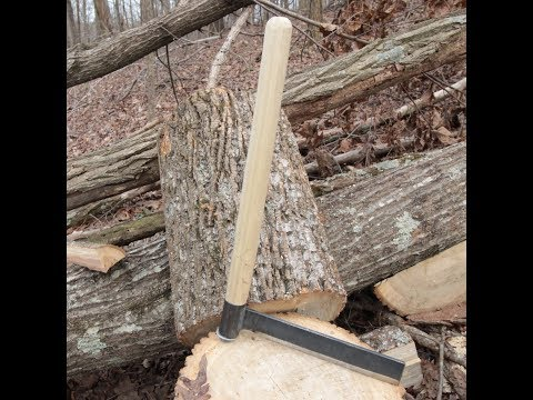 How To Make A Froe - Green Woodworking Tool