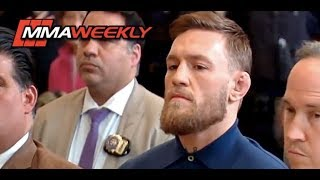 Conor McGregor Media Day Meltdown and Court Appearance