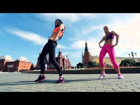 Advanst PR. Красивые фитнес девушки, красиво танцуют. Beauty Moscow Girl