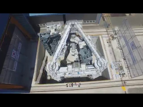 Twin giants to handle ITER components