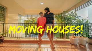 MOVING HOUSES || House tour || What's up with us - Leo&Fam
