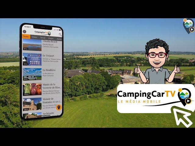 Je Tourisme en Camping-Car N°183 - La Ferme de la Roullière, Normandie.