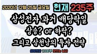 20201225 삼성전자 주식 특별배당 #배당락일과 장…