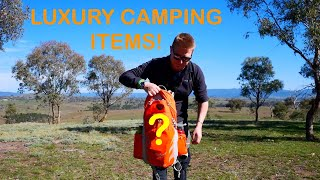 My top 3 luxury items for camping, bushcraft and hiking