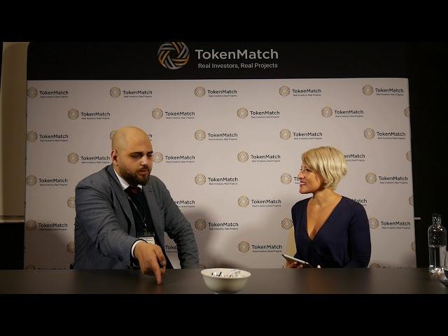 Geeba Interview - TokenMatch Barcelona October 19, 2018