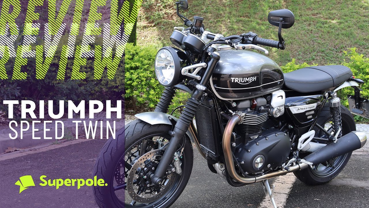 Triumph Speed Twin 2020 - Review Completo