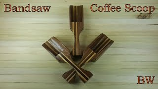 Bandsaw Coffee Scoop
