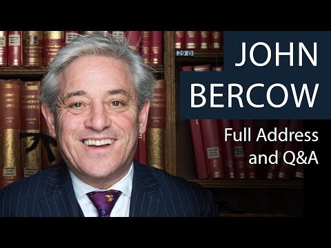 John Bercow | Full Address and Q&A | Oxford Union