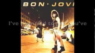 Bon Jovi: Burning for Love (Lyrics on Screen and in Description)