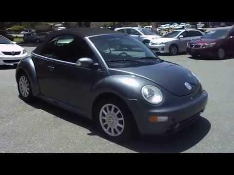 2004 VW Beetle Convertible!