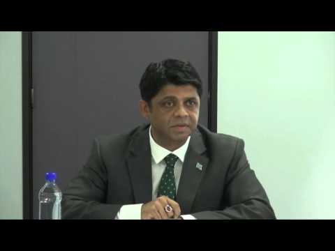 Fijian Attorney-General, Hon. Aiyaz Sayed-Khaiyum's Press Conference on Cyclone Winston.