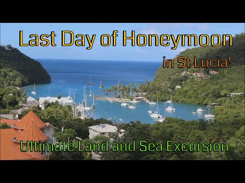 LAST DAY OF CARIBBEAN HONEYMOON CRUISE | ST LUCIA | ULTIMATE LAND AND SEA EXCURSION | PART 1