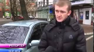 В Луганске снова повредили машину активисту «Дорожного контроля» ТВ версия