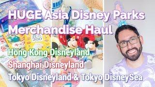 HUGE Asia Disney Parks Merchandise Haul | Hong Kong, Shanghai, & Tokyo Disneyland thumbnail