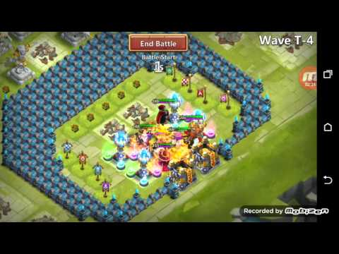 Castle Clash. HBM T Without Moltanica