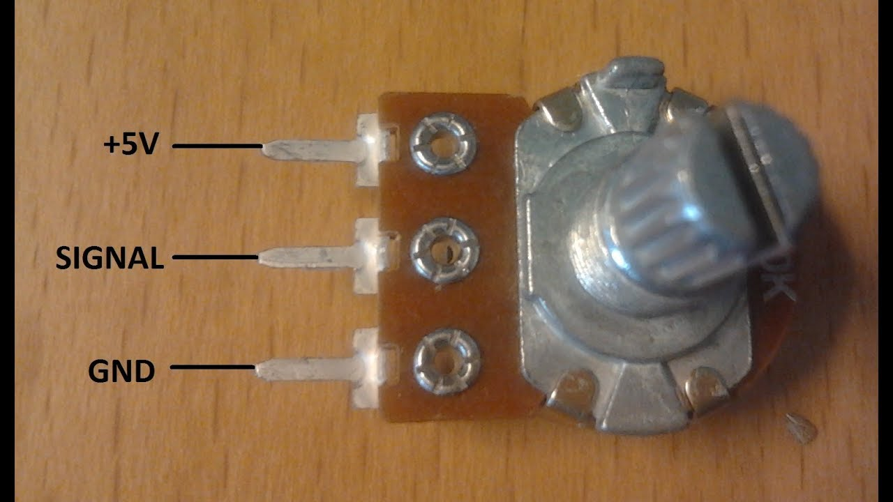 Learn How to Wire a Potentiometer  YouTube