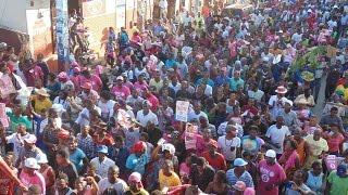 Haïti: les partisans du pouvoir manifestent dans une ambiance de carnaval