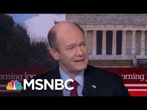 Senator Chris Coons Confused Why Donald Trump Won't Confront Vladimir Putin | Morning Joe | MSNBC