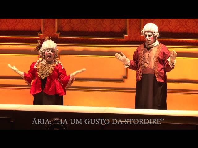 O Professor de Música, ópera cômica de Giovanni Battista Pergolesi