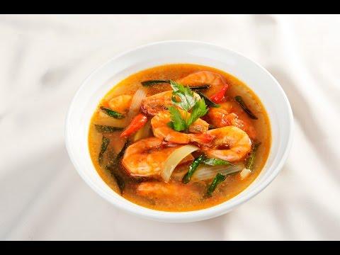 Món Ngon Mỗi Ngày - Canh chua tôm cà ri