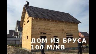 видео Срубы  домов из бруса недорого