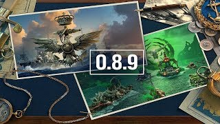 WORLD OF WARSHIPS en Español//Actualizacion 0.8.9//CC Italianos + Evento Hallowen..