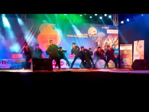 Hood Brother Hood Dance Crew using Optimus Prime Prop