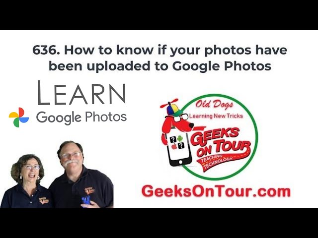 How to Be Sure Your Google Photos areSafely Uploaded to the Cloud 636