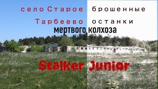 село Старое Тарбеево (Торбеево) брошенные останки мертвого колхоза