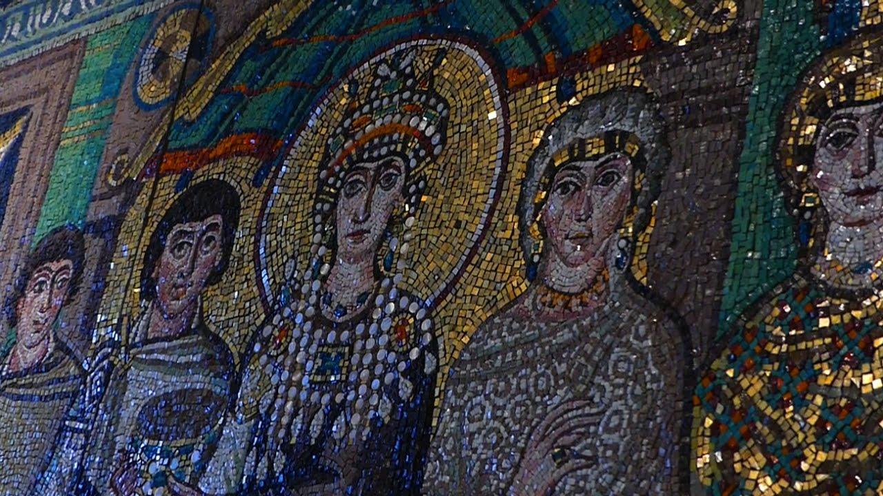 Mozaiki z Rawenny w Kwidzynie