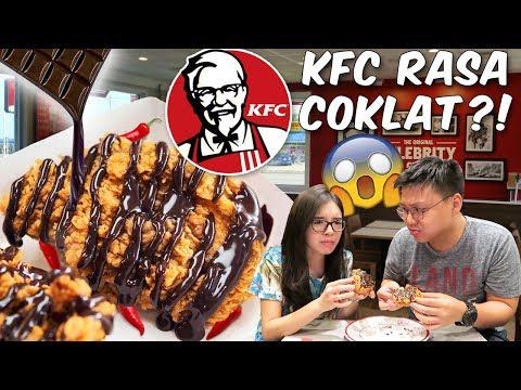 Ayam KFC Pake Cokelat Cabe ?! Aneh Gak???