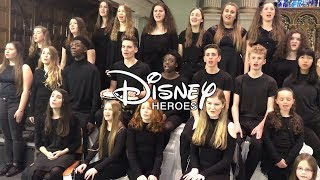DISNEY HEROES MEDLEY (live) ft. Moana, Lion King, Frozen & more | Spirit Young Performers Company