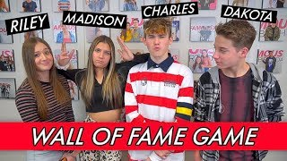 Riley, Madison, Charles and Dakota - Wall of Fame